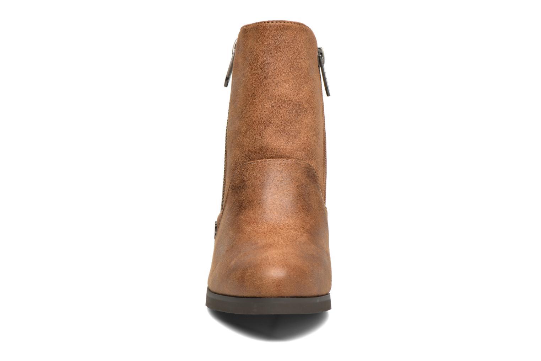 Bottines et boots Les P'tites Bombes Baltimore Marron vue portées chaussures