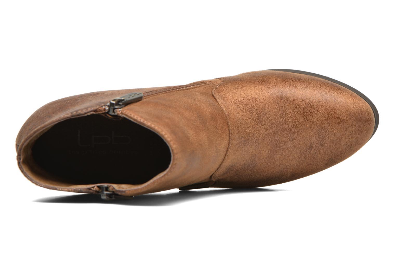Bottines et boots Les P'tites Bombes Baltimore Marron vue gauche