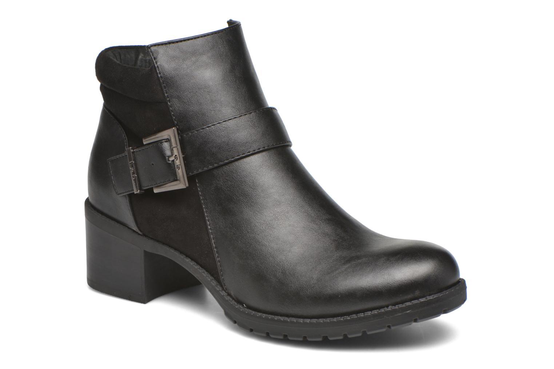 Bottines et boots Les P'tites Bombes Dandy Noir vue détail/paire