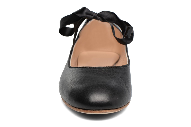 Ballerines Opéra national de Paris Eloge Noir vue portées chaussures