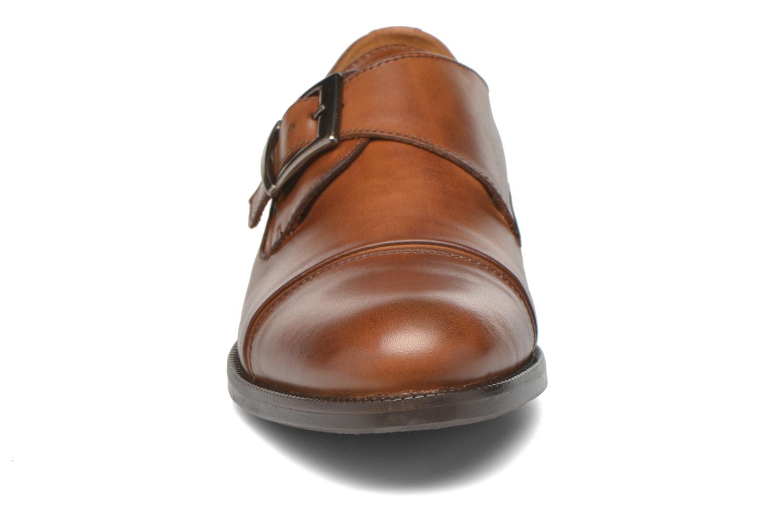 Mocassins Marvin&Co Nostell Marron vue portées chaussures