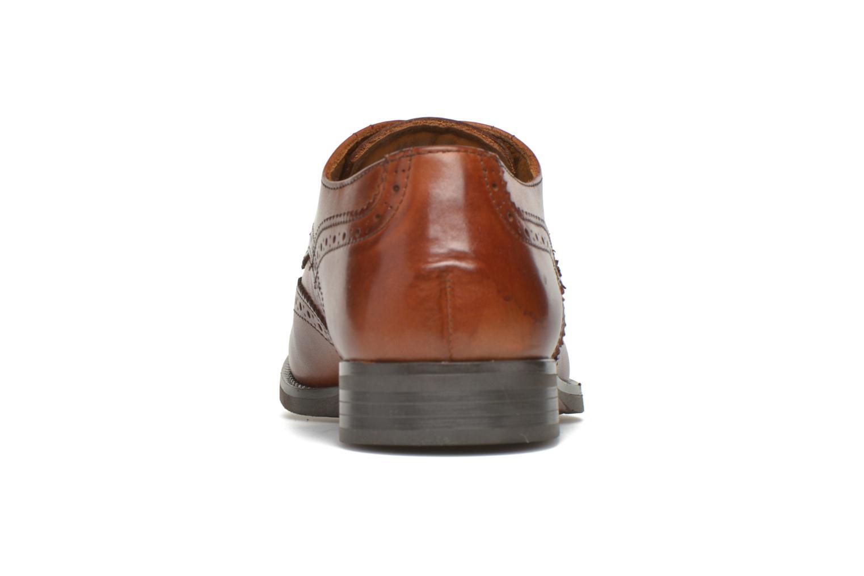 Zapatos con cordones Marvin&Co Newtownabbey Marrón vista lateral derecha