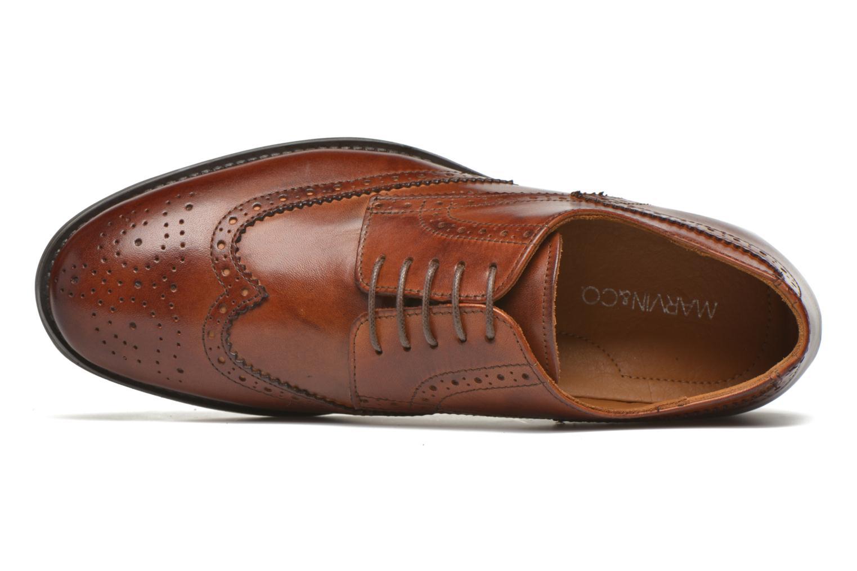Zapatos con cordones Marvin&Co Newtownabbey Marrón vista lateral izquierda