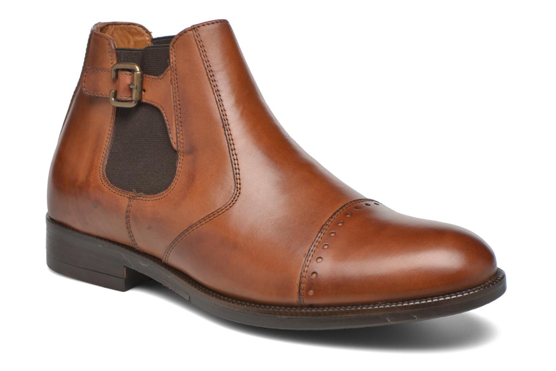 Bottines et boots Marvin&Co Nuneaton Marron vue détail/paire