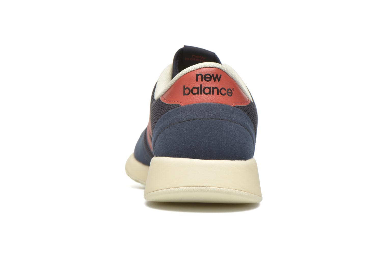 Baskets New Balance MRL420 Bleu vue droite