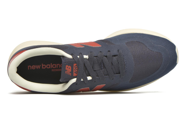 Baskets New Balance MRL420 Bleu vue gauche