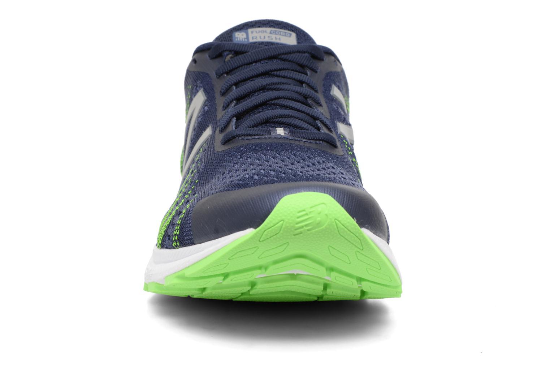 Scarpe sportive New Balance MRUSH Azzurro modello indossato