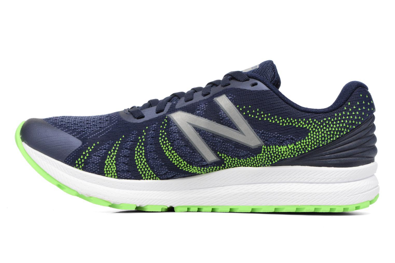 Chaussures de sport New Balance MRUSH Bleu vue face
