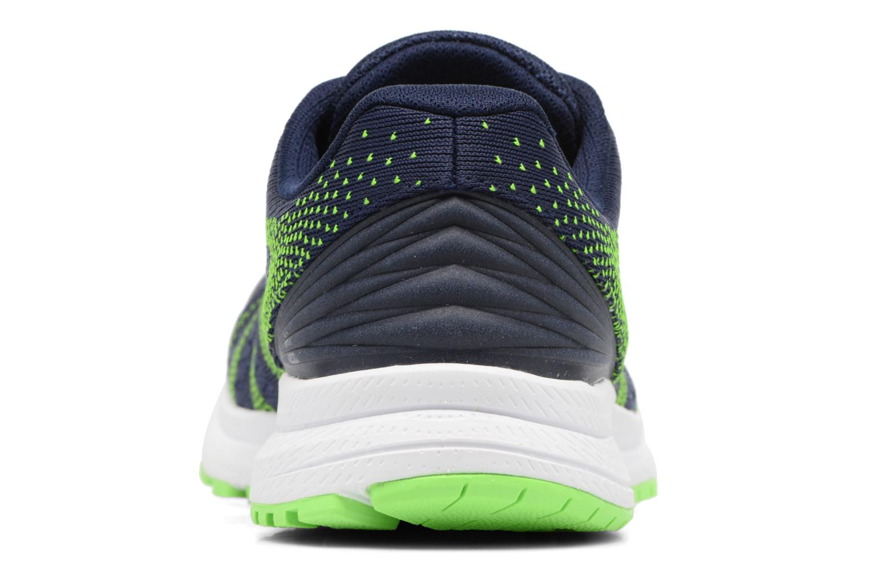 Zapatillas de deporte New Balance MRUSH Azul vista lateral derecha