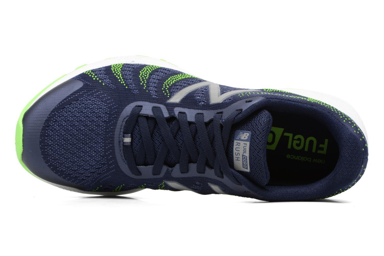 Zapatillas de deporte New Balance MRUSH Azul vista lateral izquierda