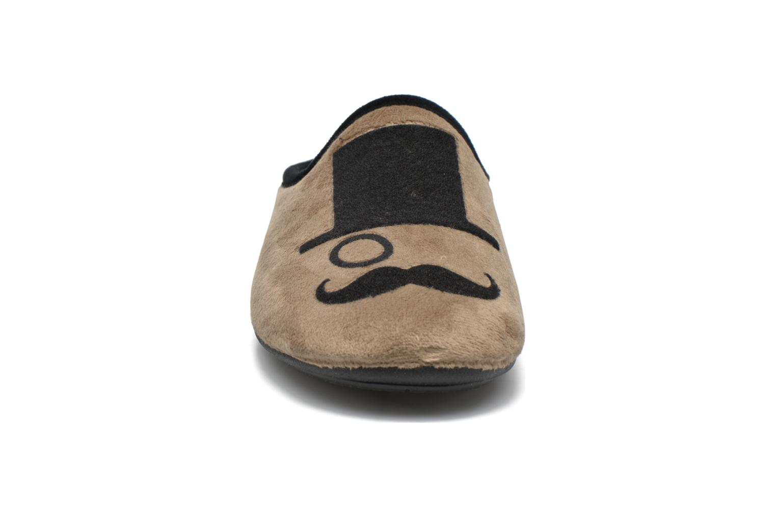 Chaussons Rondinaud Semouse Beige vue portées chaussures