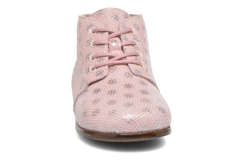 Chaussures à lacets Aster Odria Rose vue portées chaussures