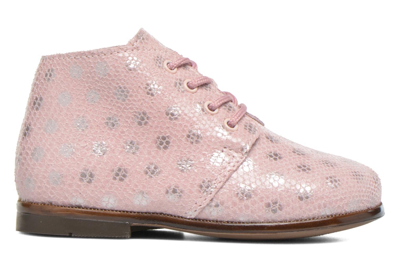 Chaussures à lacets Aster Odria Rose vue derrière