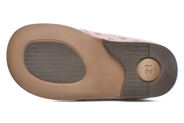Chaussures à lacets Aster Odria Rose vue haut