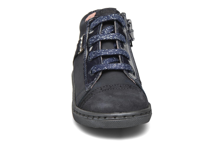 Baskets Aster Rifia Bleu vue portées chaussures