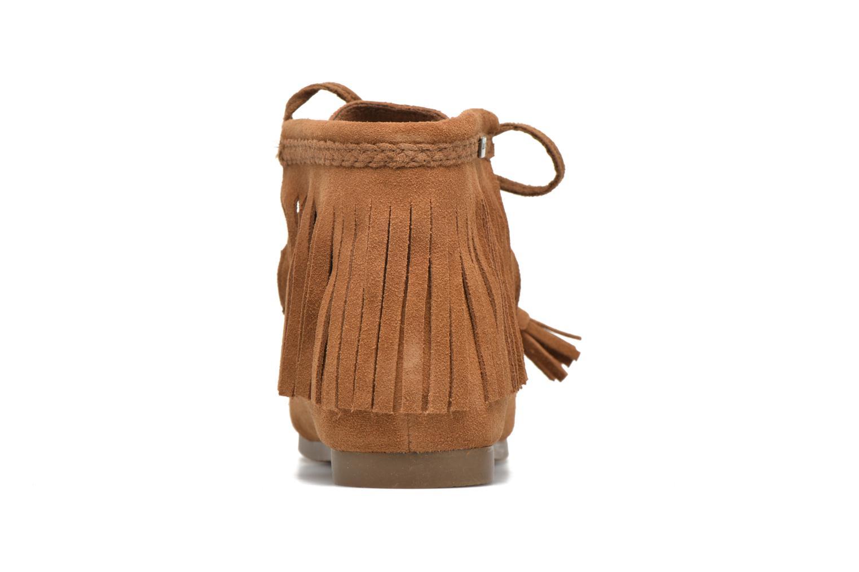 Bottines et boots Les Tropéziennes par M Belarbi Ghita Marron vue droite
