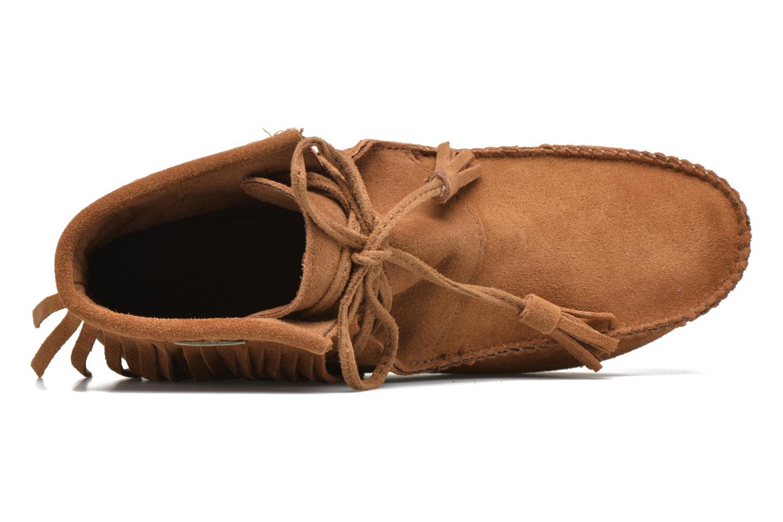Bottines et boots Les Tropéziennes par M Belarbi Ghita Marron vue gauche