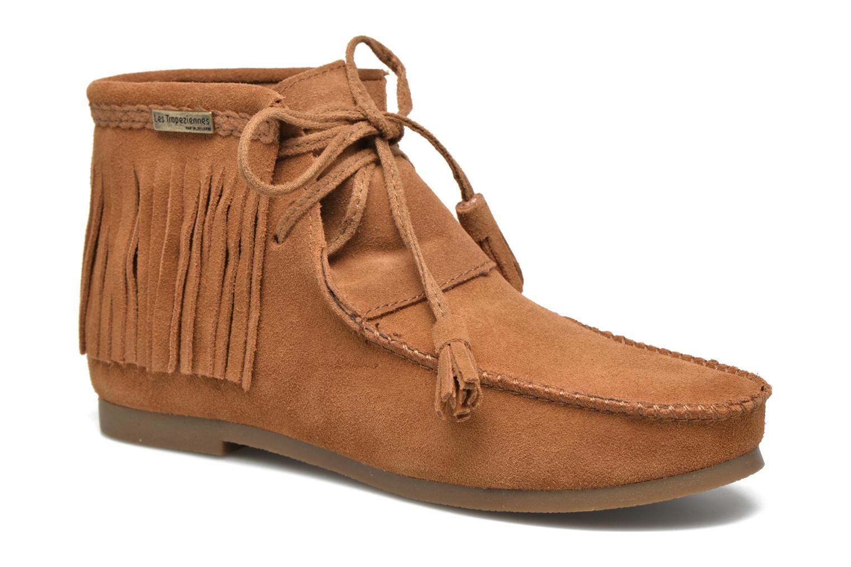 Bottines et boots Les Tropéziennes par M Belarbi Ghita Marron vue détail/paire