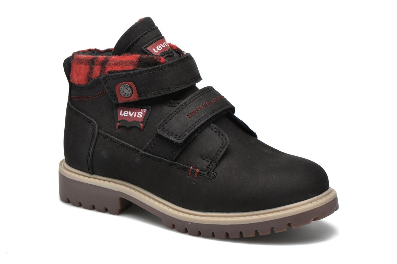 Bottines et boots Levi's Pimento Noir vue détail/paire