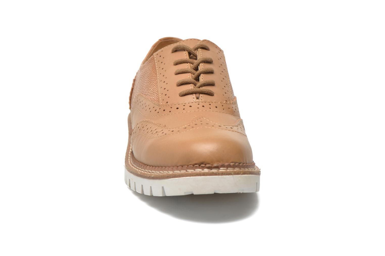 Chaussures à lacets Aldo EMELYNE Beige vue portées chaussures