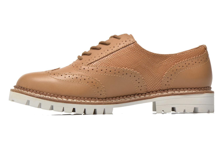 Chaussures à lacets Aldo EMELYNE Beige vue face
