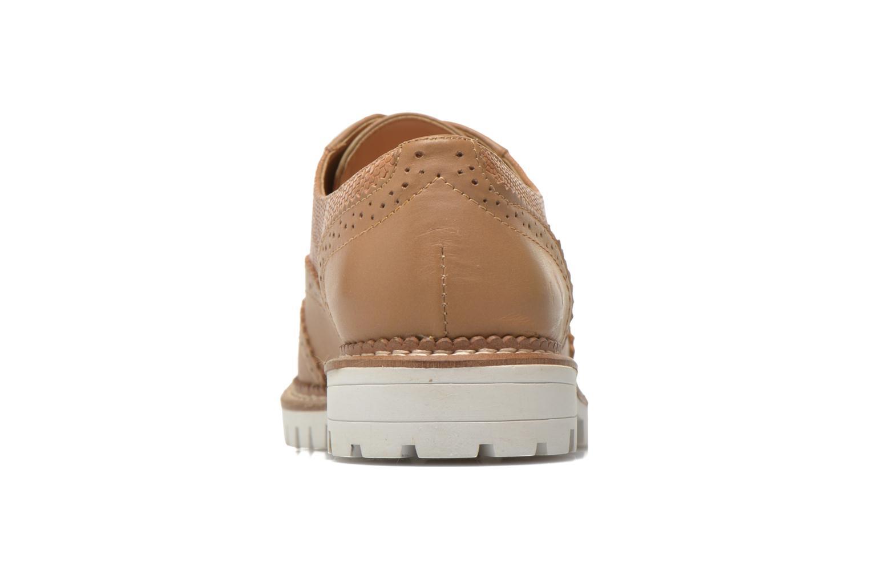 Chaussures à lacets Aldo EMELYNE Beige vue droite