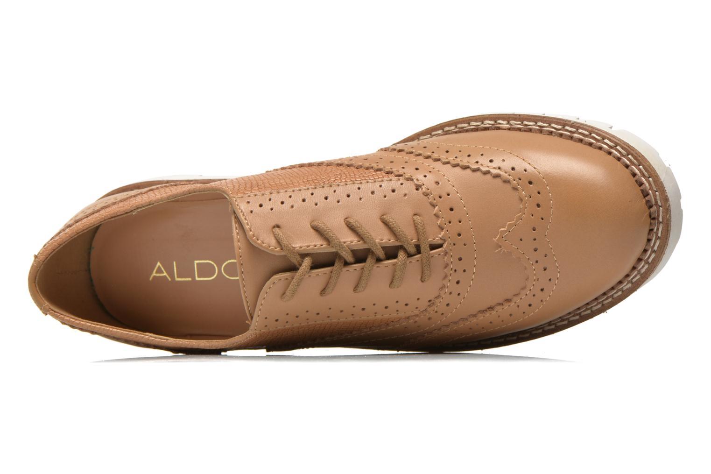 Chaussures à lacets Aldo EMELYNE Beige vue gauche