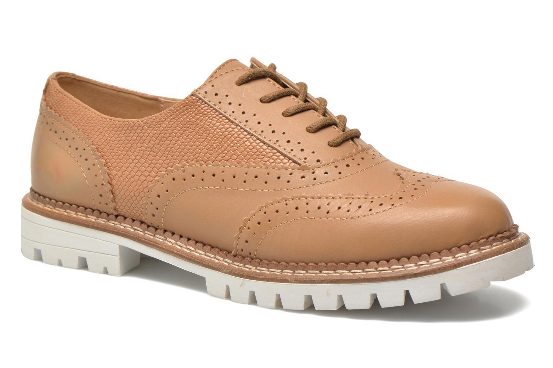 Chaussures à lacets Aldo EMELYNE Beige vue détail/paire