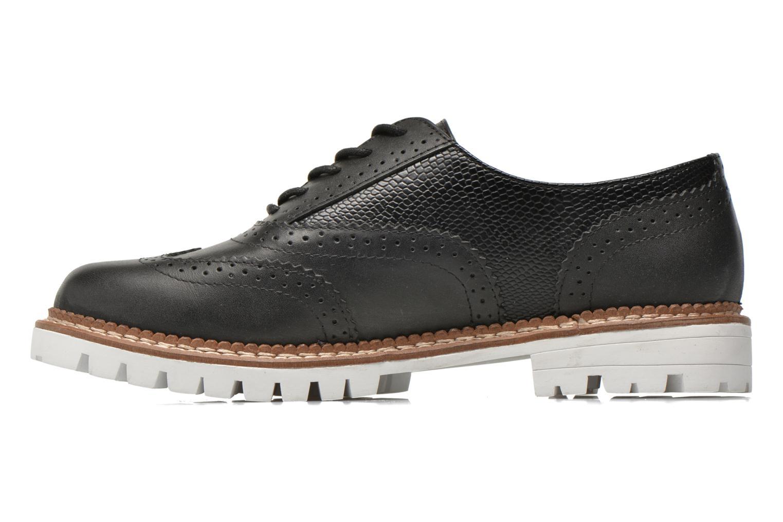 Chaussures à lacets Aldo EMELYNE Noir vue face