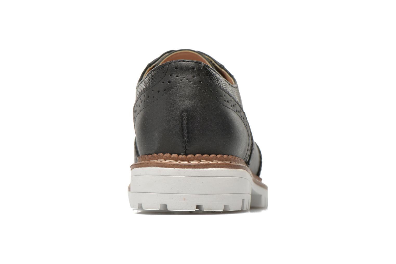 Chaussures à lacets Aldo EMELYNE Noir vue droite