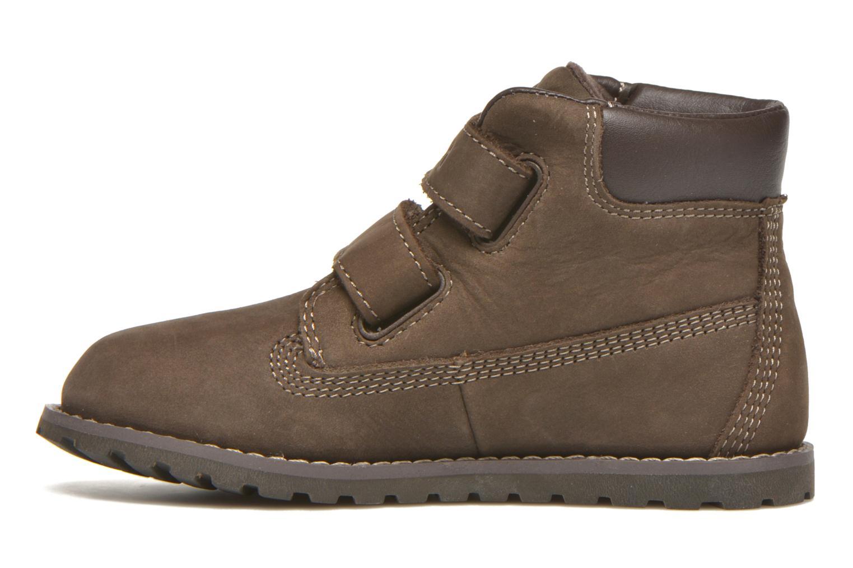 Stiefeletten & Boots Timberland Pokey Pine H&L braun ansicht von vorne