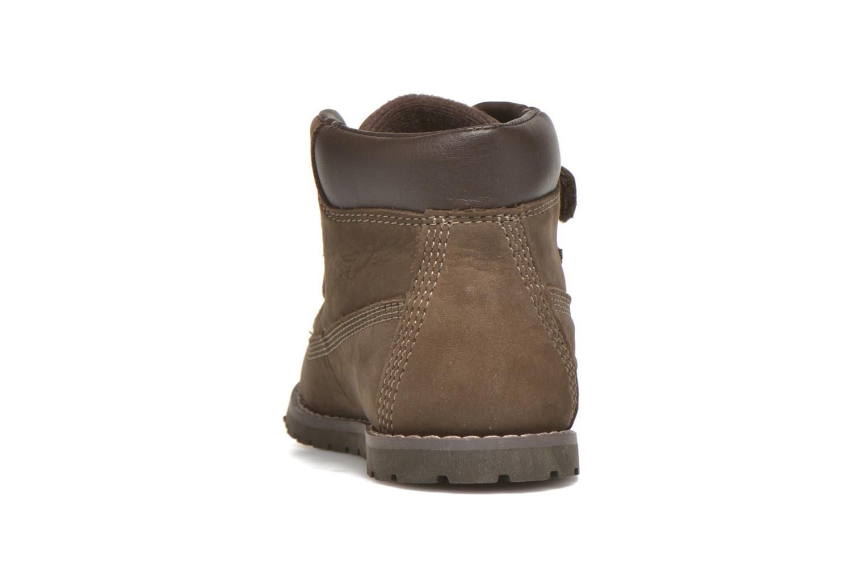 Stiefeletten & Boots Timberland Pokey Pine H&L braun ansicht von rechts