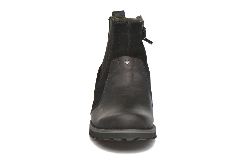 Bottines et boots Timberland Asphalt Trail Chelsea Noir vue portées chaussures