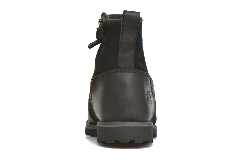 Bottines et boots Timberland Asphalt Trail Chelsea Noir vue droite