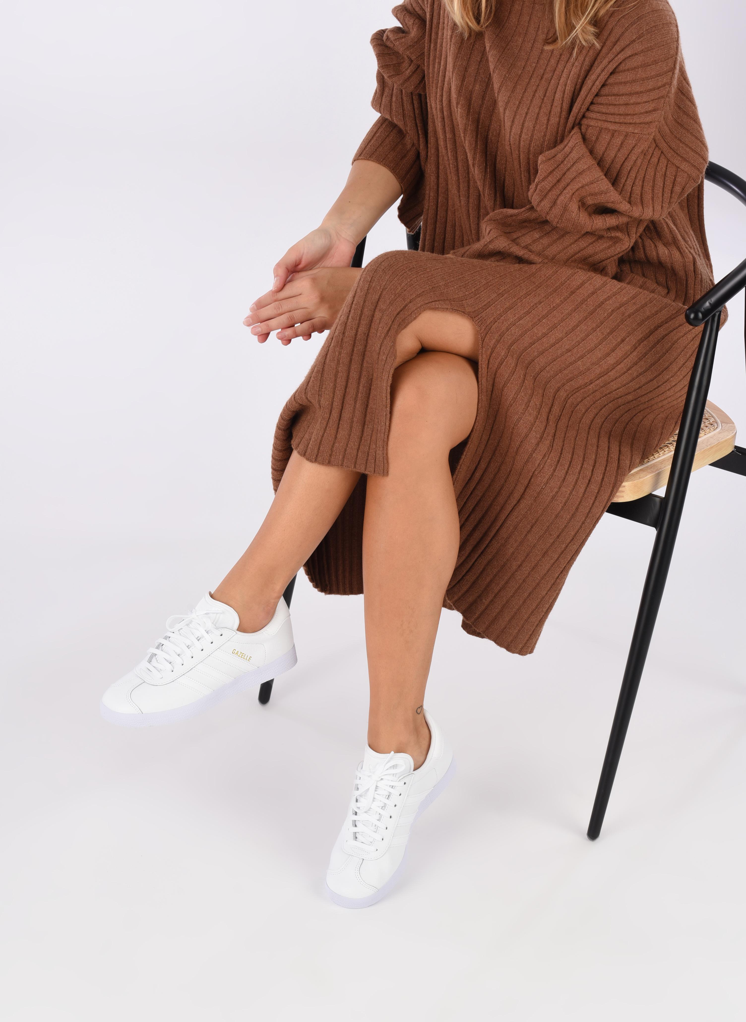 Sneakers Adidas Originals Gazelle W Bianco immagine dal basso