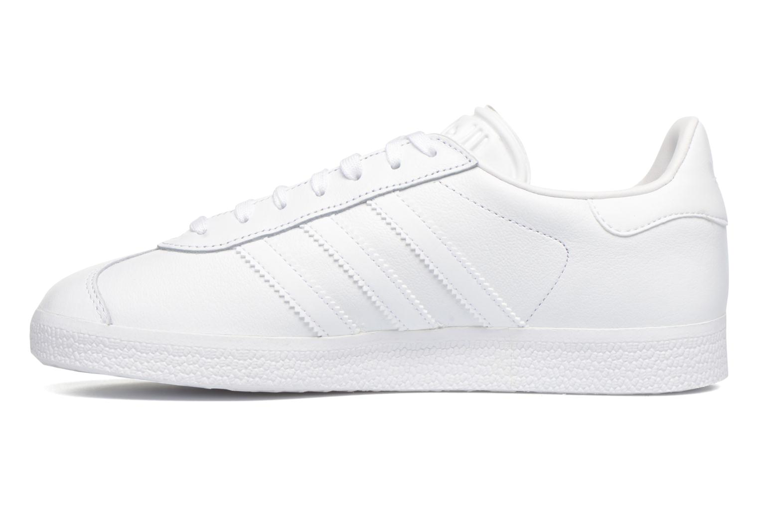 Sneakers Adidas Originals Gazelle W Bianco immagine frontale