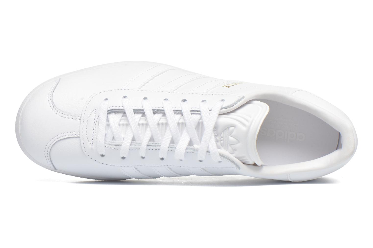 Sneakers Adidas Originals Gazelle W Bianco immagine sinistra
