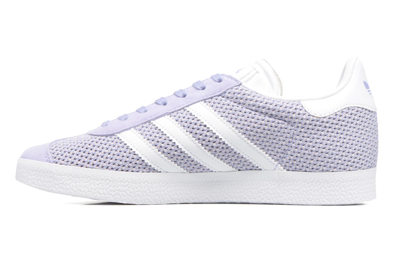 Deportivas Adidas Originals Gazelle W Violeta      vista de frente