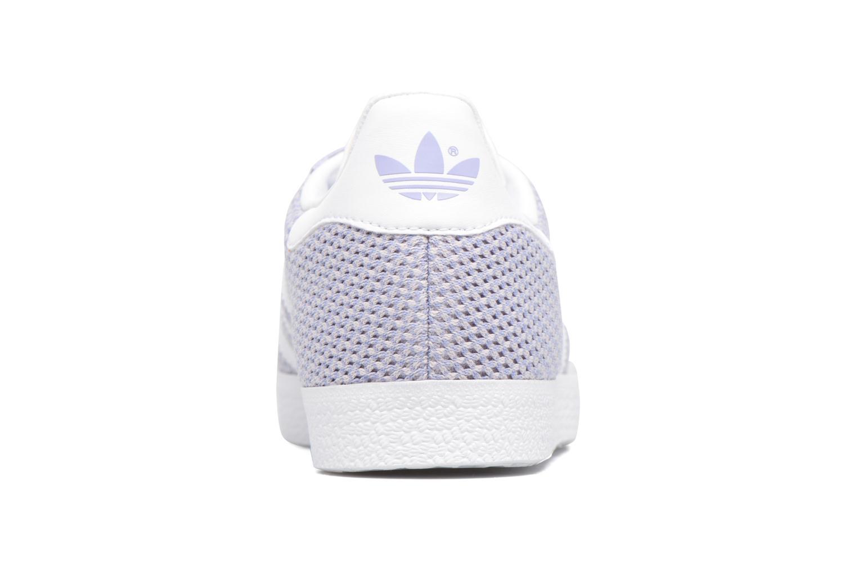 Deportivas Adidas Originals Gazelle W Violeta      vista lateral derecha