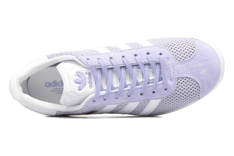 Deportivas Adidas Originals Gazelle W Violeta      vista lateral izquierda