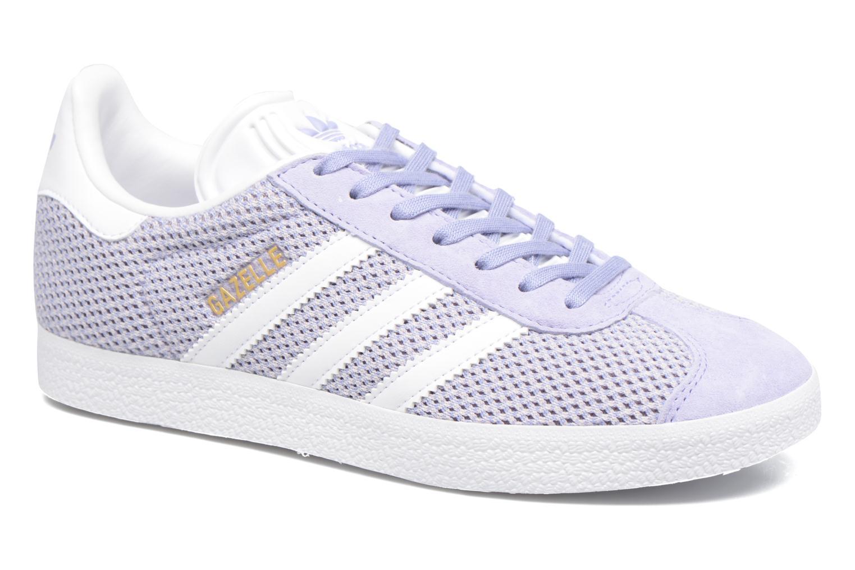 Deportivas Adidas Originals Gazelle W Violeta      vista de detalle / par