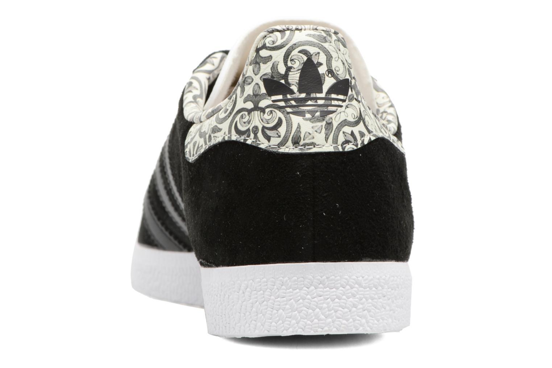 Baskets Adidas Originals Gazelle W Noir vue droite