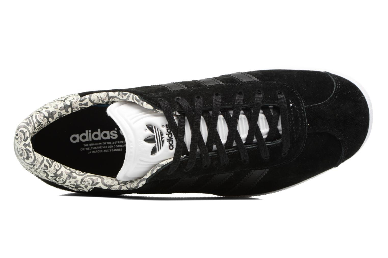 Baskets Adidas Originals Gazelle W Noir vue gauche
