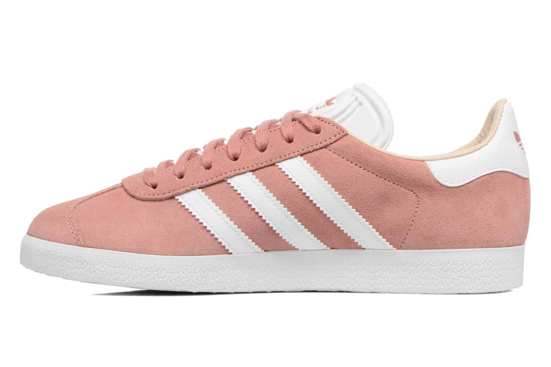 Sneakers Adidas Originals Gazelle W Roze voorkant
