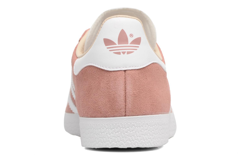 Deportivas Adidas Originals Gazelle W Rosa vista lateral derecha