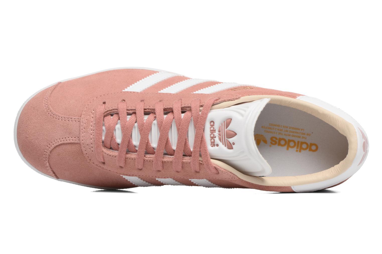 Deportivas Adidas Originals Gazelle W Rosa vista lateral izquierda