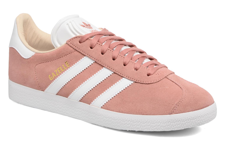 Baskets Adidas Originals Gazelle W Rose vue détail/paire