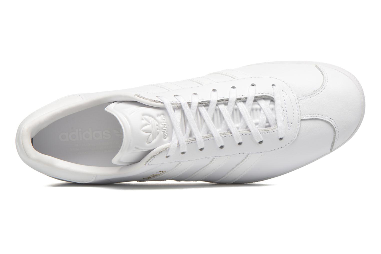 Baskets Adidas Originals Gazelle Gris vue gauche