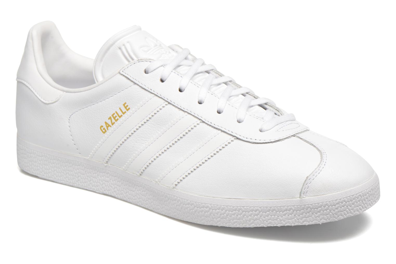 Baskets Adidas Originals Gazelle Gris vue détail/paire