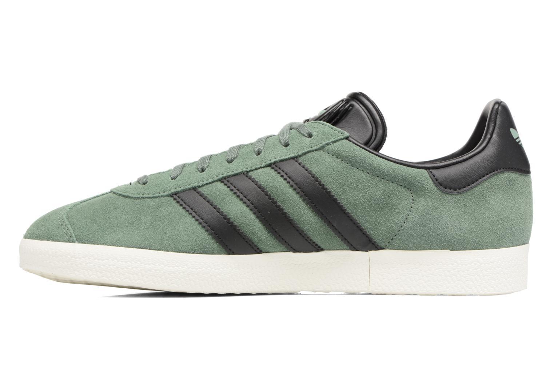 Baskets Adidas Originals Gazelle Vert vue face